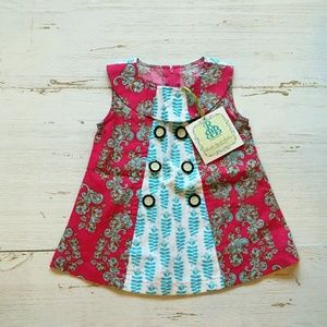 Right Baby Bank printed dress